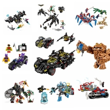 76116 76117 76115 76114 Super Hero Batman Series Batsub and the Underwater Clash Building Blocks Toys Bricks Gift For Children