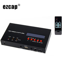 Originale Ezcap 283S HD Video Capture Box HDMI CVBS AV Gioco di Registrazione Video Per PS3 PS4 XBOX TV STB cure mediche Per La Trasmissione In Diretta