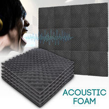 50x50x1.5cm isolamento acústico da esponja do ruído do algodão do som-absorvente do tratamento da espuma acústica excelente