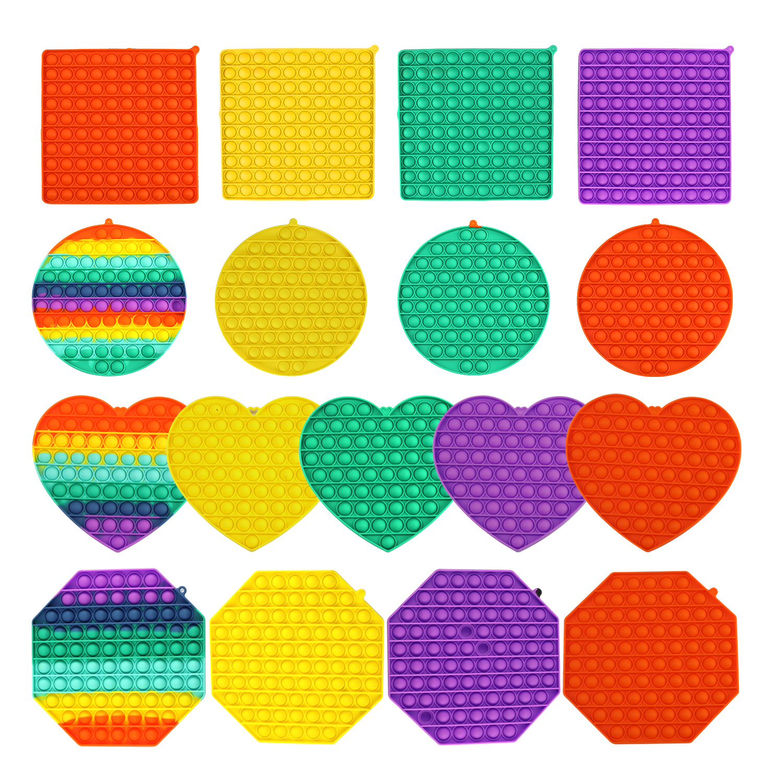 Stress Reliever Toy Autism Fidget Bubble-Sensory Squishy Popsits Push Big-Size Needs img3