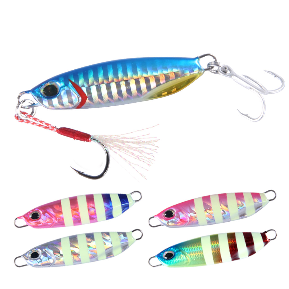 Fishing lure jigging <font><b>metal</b></font> <font><b>jig</b></font> slow <font><b>jig</b></font> bait 20g 30g <font><b>40g</b></font> 60g 80g for trolling fishing drag lead <font><b>jig</b></font> image