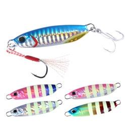 Fishing lure jigging metal jig slow jig bait 20g 30g 40g 60g 80g for trolling fishing drag lead jig