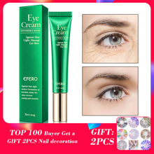 EFERO Eye Cream Peptide Collagen Serum Anti-Wrinkle Anti-Age Remover Dark Circles Bags Against Blue Light Nourishing Eye Cream lancaster total age correction amplified eye cream