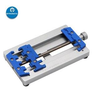 Image 2 - Mj k22 placa de circuito de alta temperatura de solda gabarito fixação para o telefone móvel placa mãe reparação pcb fixação titular