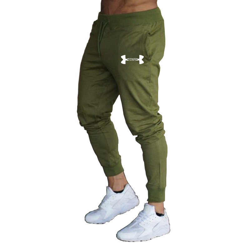 Jogging Pants Men Running Fitness Gym Sweatpants Swearing Sport Trousers Mens Football Soccer Training
