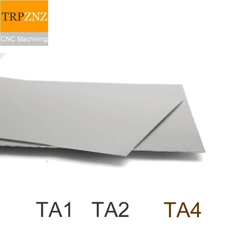 Custom Link,340x40x2mm,340x30x2mm,Pure Titanium TA1/TA2, Titanium Plate ,High-purity Titanium Foil,Custom Cutting,CNC Machining