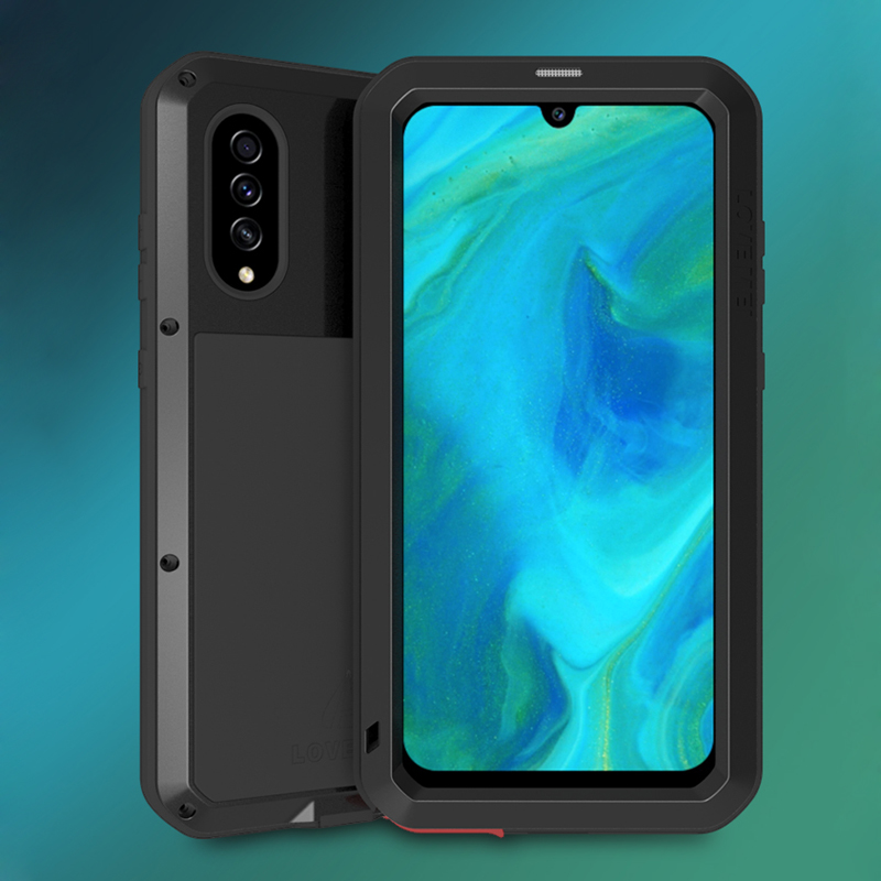 Waterproof <font><b>Armor</b></font> <font><b>Case</b></font> For <font><b>Samsung</b></font> Galaxy A70 A70S Shockproof Doom Full Protective Cover For <font><b>Samsung</b></font> A70 A70S With Tempered Glass image