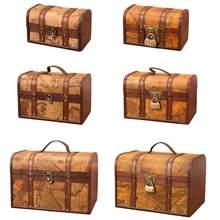 Caixa de armazenamento de madeira decorativa tesouro caixa de armazenamento dobrável roupas sujas coleta caso não tecido