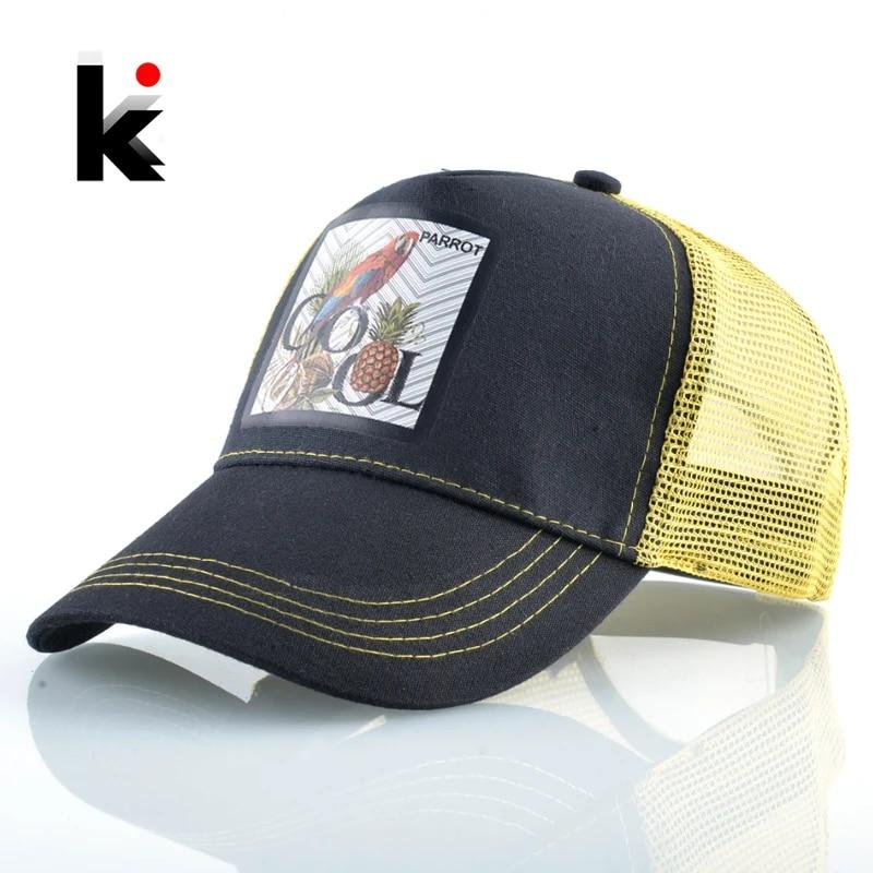 Baseball Caps Hat Adjustable Fashion Men HipHop Black 2020 Boys Fox Summer Women