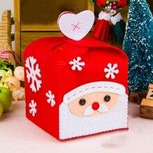 Рождественская коробка, Рождественское украшение ручной работы, набор материалов для творчества, Рождественское украшение, Kerst Doosjes Scatole Natalizie