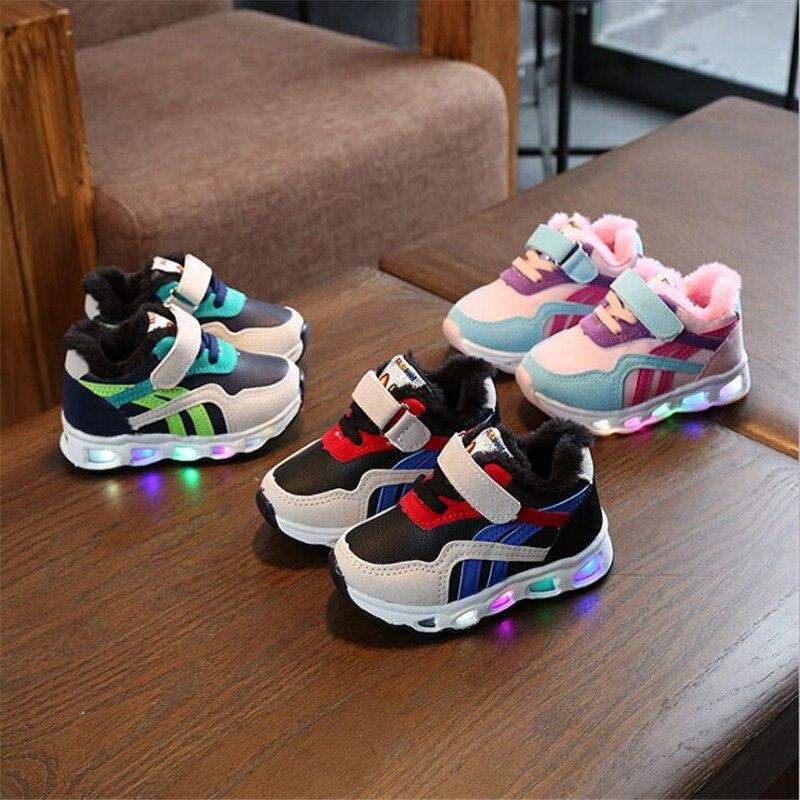 Kids Boots Children Breathe Boys Sport Trainers Boots Casual Baby School Flat Leather Sneaker 2019 Girls Sneaker Light Boots