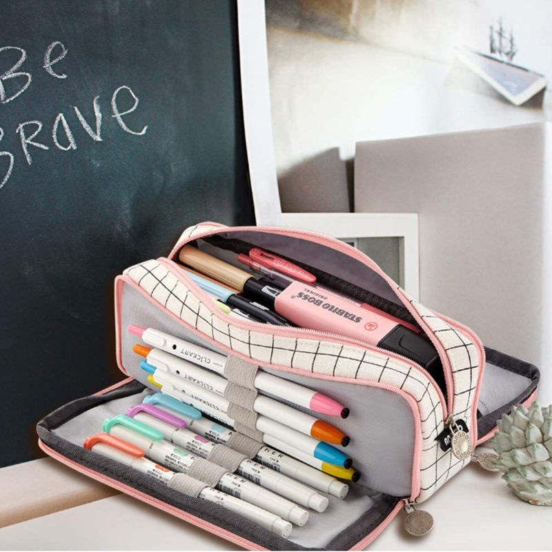 Transformer Pencil Holder Desk Office Supplies Kawaii Stationery School Pencil Bag Gift Pen Case High Capacity Pencil Case Pouch
