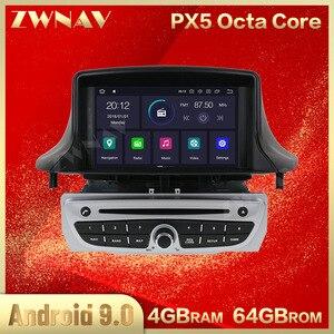 PX5 4 + 64G Android 9,0 coche dvd reproductor multimedia para Renault Megane 3 Fluence 2009-2015 Radio de Audio estéreo GPS Navi unidad de cabeza