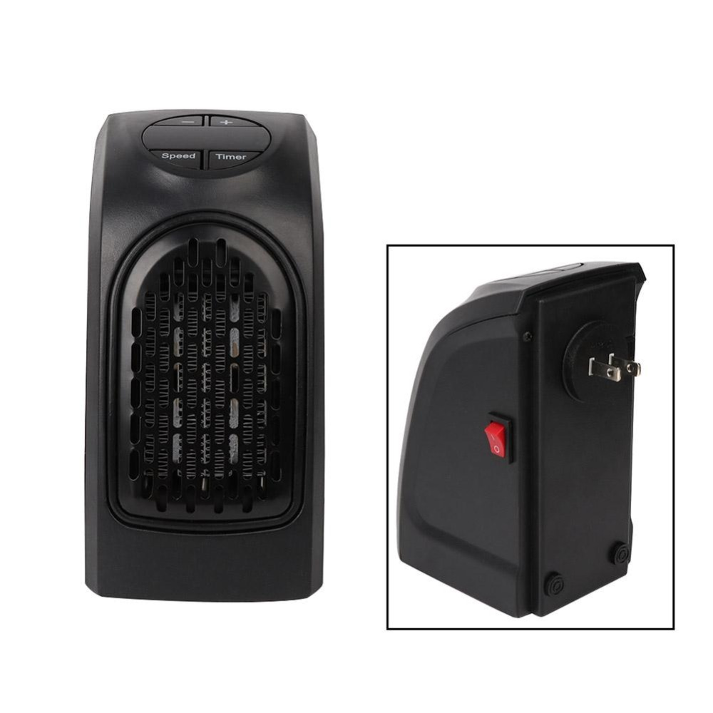Alloet 400W Electric Heater Mini Fan Heater Desktop Household Wall Handy Heating Stove Radiator Warmer Machine for Winter7