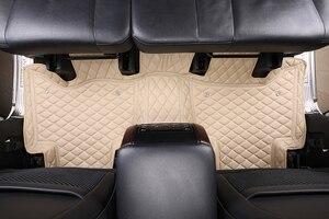 Image 2 - 3D Автомобильные Коврики для Toyota Land Cruiser 100 200 Prado120 150, Водонепроницаемые кожаные коврики, Стайлинг автомобиля, коврик для салона автомобиля