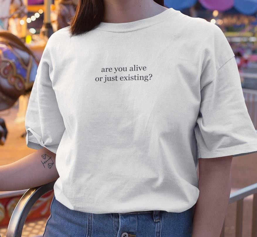 Kuakuayu HJN Summer Fashion Tshirt Cotton Unisex Top Shelftee
