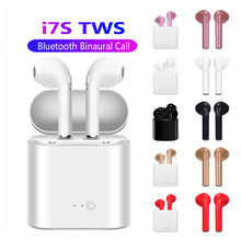 I7s TWS Bluetooth Earphone Stereo Earbud Bluetooth Headset with Charging box Pod
