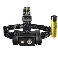 NITECORE HC65 USB Rechargeable Headlamp XM-L2 U2 LED max 1000 lumen beam distance 110 meter outdoor head lamp bicycle headlight(China)