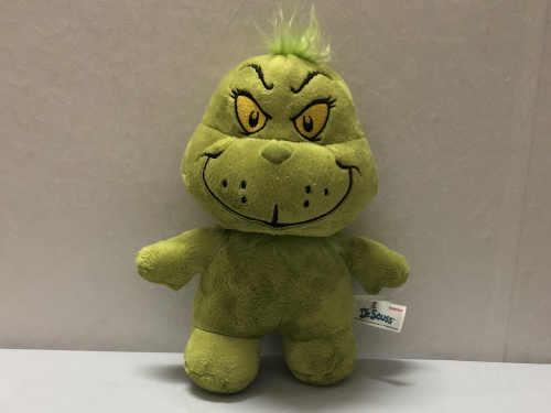 원래 Grinch 박제 인형 부드러운 소년 장난감 선물 녹색 괴물