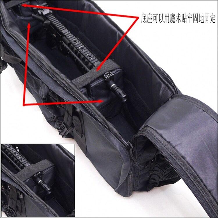 airsoft rifle carry saco de caça tiro