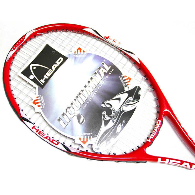 مضرب تنس للرأس من الكربون Raqueta مجموعة مهنية مع حقيبة للتنس سلسلة Overgrip سلسلة مضرب تنس بادل راكيتاس دي تينيس راشيتا
