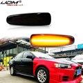 IJDM Blinker Lampe LED Für Mistubishi Outlander Sport Mirage Sport Lancer Evolution X Licht Auto Dynamischen Seite Marker Blinker