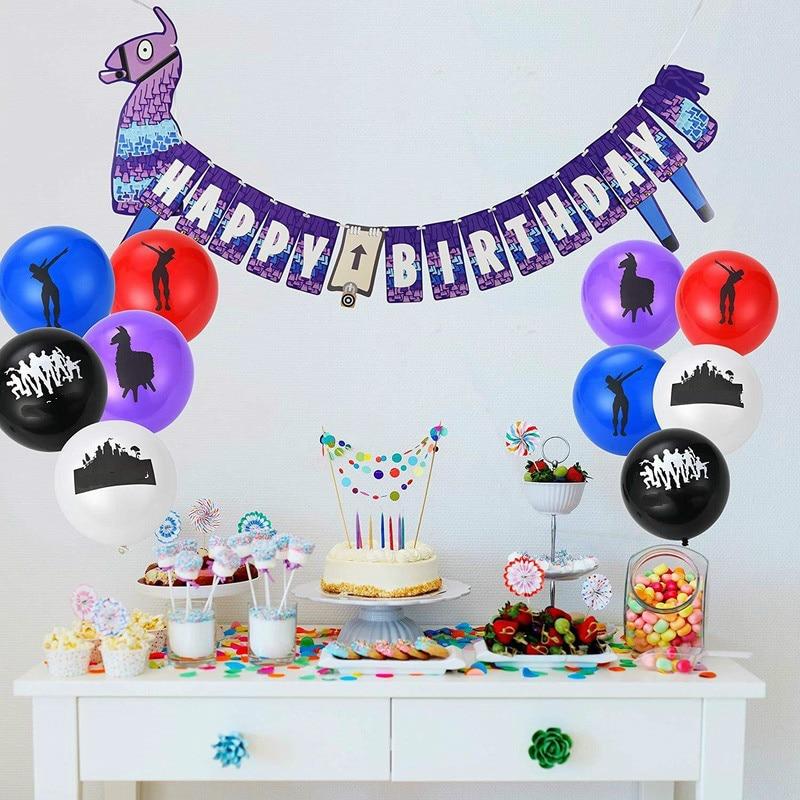 Birthday Party Supplies Game Adults Childrens Pinata Lot Battle Royal Blue LLAMA