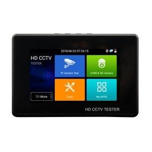 Image 2 - Yükseltme IPC 1800 artı CCTV IP kamera test cihazı 5 in 1 H.265 4K IP 8MP TVI 8MP CVI 8MP AHD Analog bilek CCTV Tester monitör ile wifi