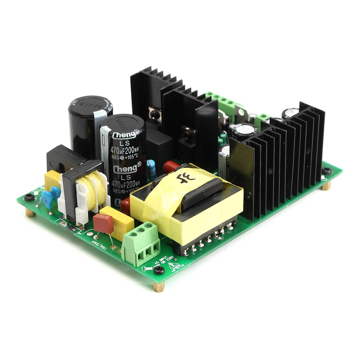 2300W High power Audio amplifier switching power supply AMP PSU board //-55V