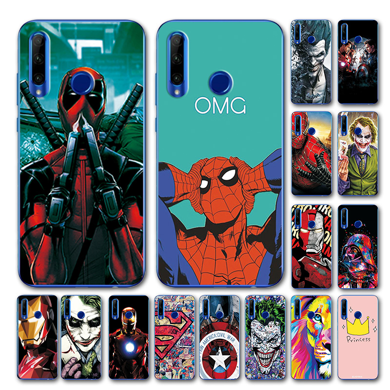 Marvel Avengers TPU Cover Honor 10i Novelty Superhero Phone Case For Huawei Honor 10i 10 I Case For Huawei Honor 10i HRY-LX1T