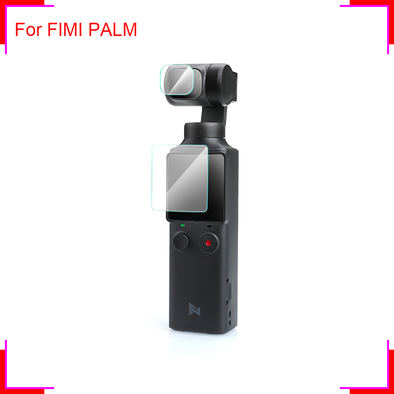 1Set Aerial Gimbal Lens Screens Tempered Glass Protective Film For FIMI PALM Handheld Gimbal Pocket Sport Camera Accessories
