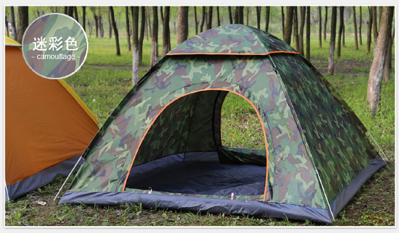 K-STAR Outdoor Automatic Pop Up Family Camping Tent 1 2 3 People Multiple Models Easy Open Tents Ultralight Instant Shade