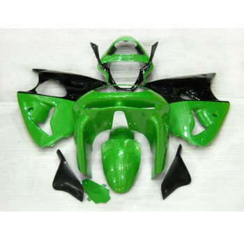 Wotefusi New Painted ABS Bodywork Fairing Full Set For Ninja ZX 6R 1998 1999 (A)