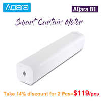 Original AQara B1 Wireless Smart Motorisierte Elektrische Vorhang Motor 12 cm/S WiFi/Stimme/App Control Smart One- schlüssel Hause Kits 3030mAh