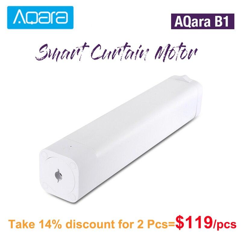 Original AQara B1 centímetros/s 12 Motorizados Cortina Elétrica Do Motor Inteligente Sem Fio Wi-fi/Voz/Controle App Inteligente One- chave Casa Kits 3030mAh