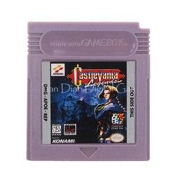 Na konsolę Nintendo GBC kartridż z grą karta konsoli Castlevania język angielski wersja w Części zamienne i akcesoria od Elektronika użytkowa na