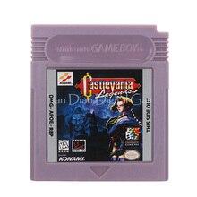 עבור Nintendo GBC וידאו משחק מחסנית קונסולת כרטיס Castlevania אנגלית שפה גרסה