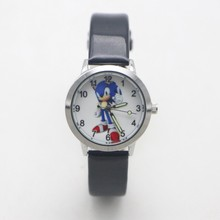 New Arrival Children Fashion Sonic Wristwatch For Boys Girls Gifts Simple Student Kids