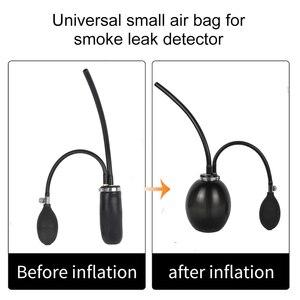 Image 2 - Hava yastığı evrensel adaptör ayarlanabilir AIntake mesane araba duman makine jeneratörü otomotiv dumanı kaçak dedektörü hava pompası