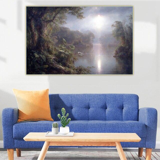 Фото художественная картина на холсте «церковь фредерика эдвина» цена