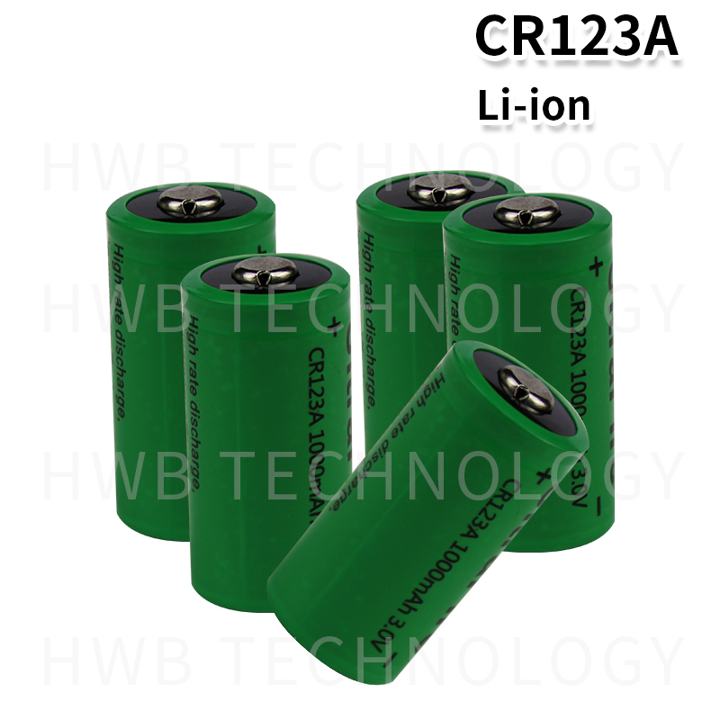 4x <font><b>17335</b></font> 3.0V 1000mAh Rechargeable CR123A Batteries Free Shipping image