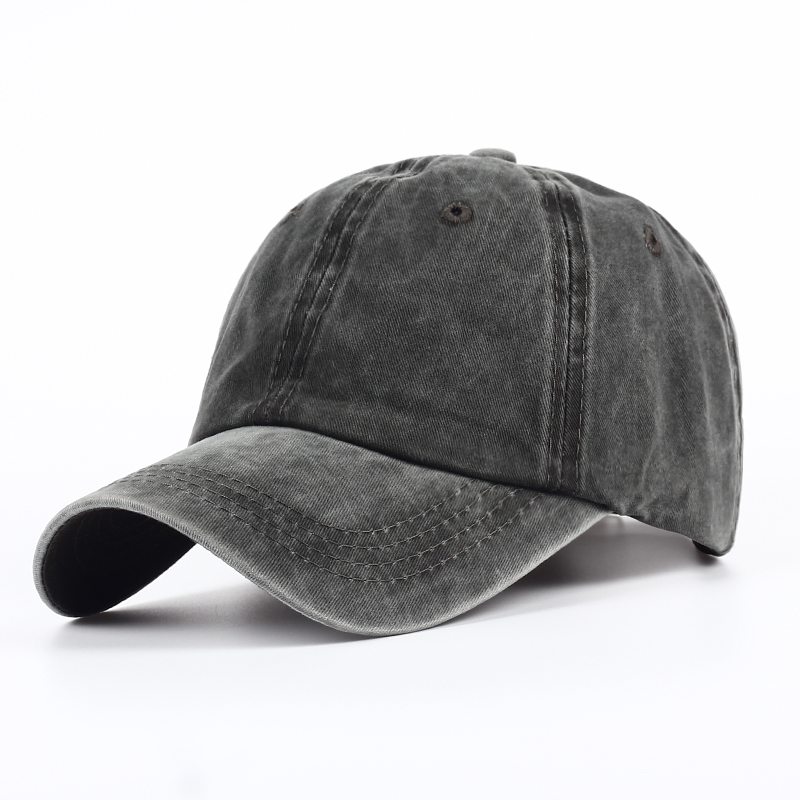 2019 New Plain Dyed Sand Washed 100% Soft Cotton Cap Blank Baseball Caps Dad Hat No Embroidery Mens Cap Hat For Men And Women