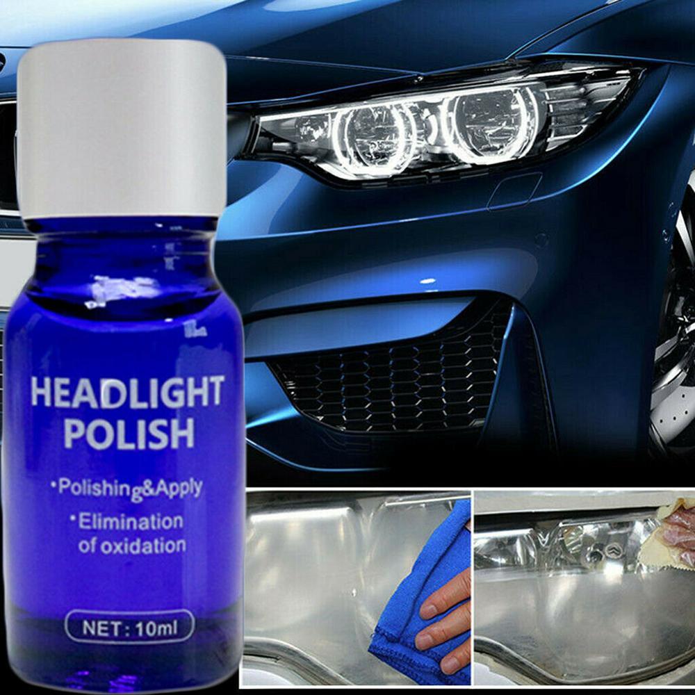 30ML 9H Car Hardness Headlight Lens Restorer Repair Liquid Polish Auto Cleaner Set Environmentally Friendly Brand Support CSV