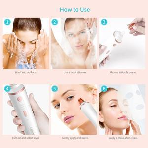 Image 5 - Remoção da espinha da acne do vácuo dos poros dos cuidados com a pele ferramenta facial da sução do vácuo da máquina dermabrasion do diamante limpo