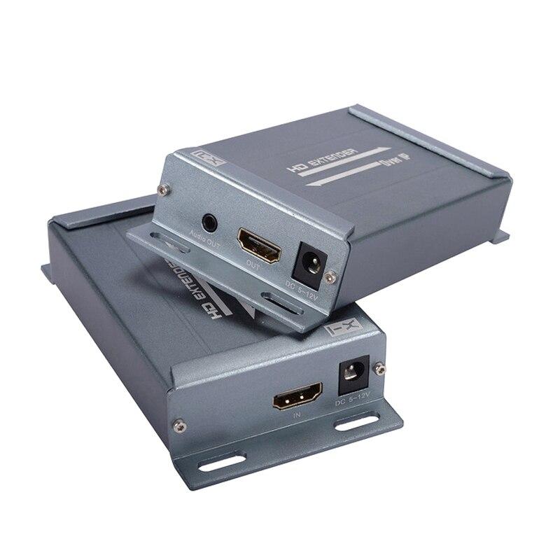 CHV891 120m HDMI Extender Over IP TCP UTP STP CAT5e RJ45 LAN Network Support 1080P Extension HDMI Splitter Transmitter Receiver
