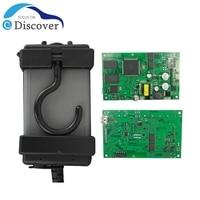 Herramienta de diagnóstico OBD2 Chip completo Dice 2014D 2015A, EWD 2014D con soporte de PCB verde, multilenguaje, envío gratis