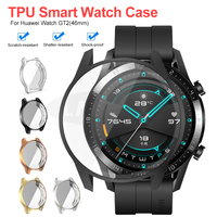 TPU Watch Protect Cover Case for Huawei Watch GT2 42mm 46mm Shell Protector Smart Watch Accessorie for Huawei GT 2|Smart Accessories| |  -