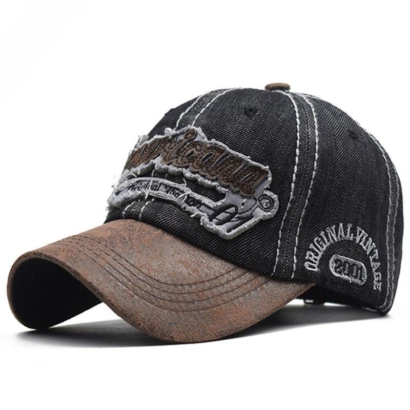 [NORTHWOOD] Branded Men's Cap Denim Baseball Cap Women Men Snapback Hat 3D Embroidery Dad Hat Bone Trucker Caps
