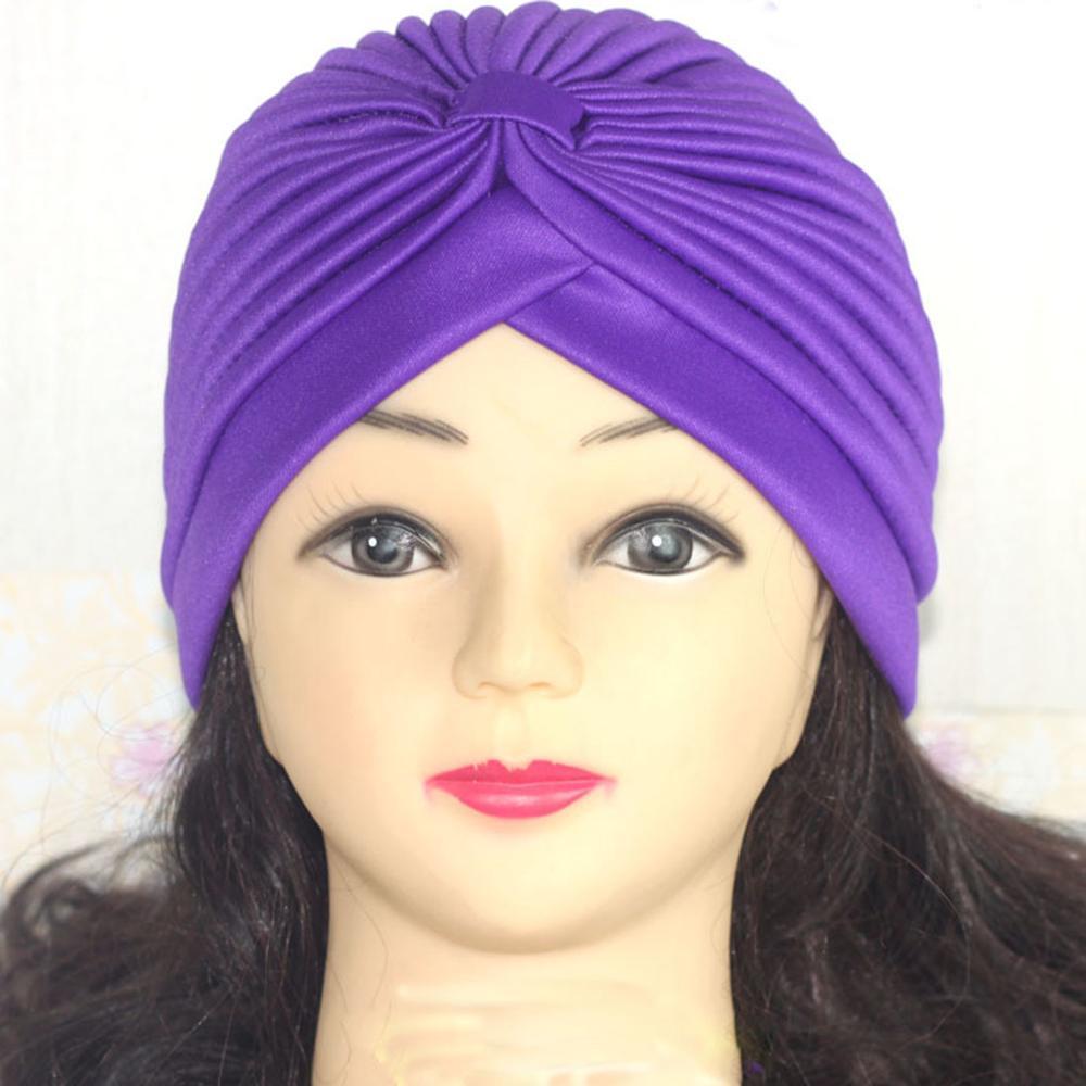 Хиджаб шарф тюрбан шапка s мусульманский головной платок Защита от солнца Кепка Женская хлопковая мусульманская многофункциональная тюрбан платок femme musulman - Цвет: 4