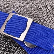 Новая горячая перчатка, предохраняющая от порезов безопасная ударная нержавеющая стальная металлическая сетка мясник
